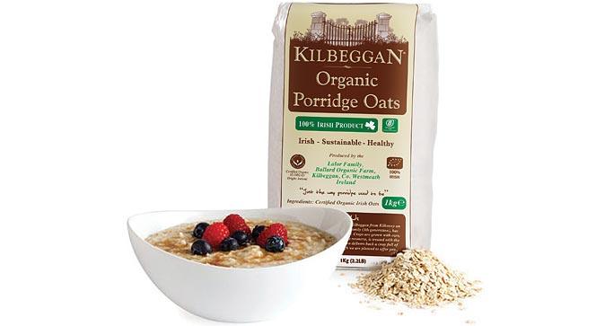 Kilbeggan Organic Porridge oats is back in the shops!