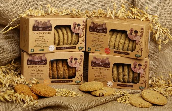 MMMmmmm………. Cookies! New Kilbeggan Oat Cookies, Individually Handmade with Organic Irish Oats